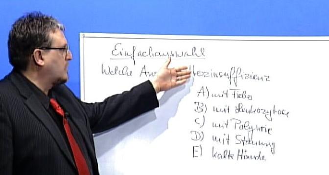 Schriftliche Heilpraktikerprüfung mit der Einfachauswahl