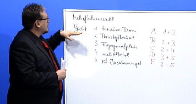 Schriftliche Heilpraktikerprüfung Mehrfachauswahl lösen