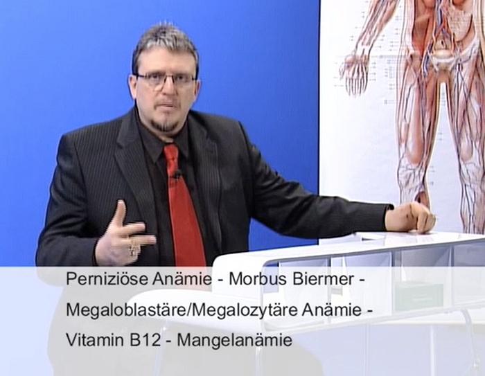 Prüfungsvorbereitung Heilpraktiker Perniziöse Anämie