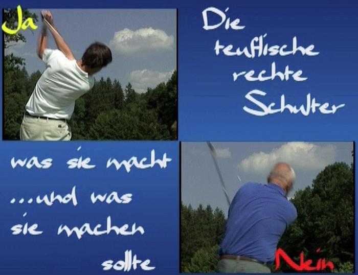 Die teuflische rechte Schulter Golf