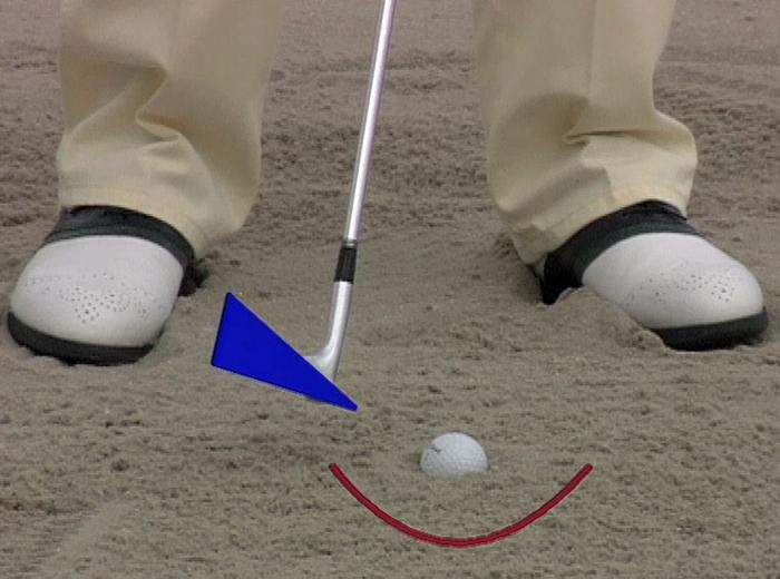 Bunkerschlag - Golf Sandbunker