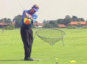 Golfschwung Training Dreiviertelschlag