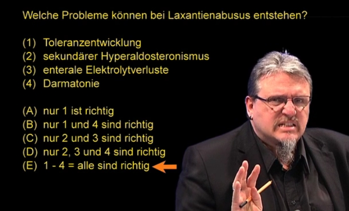 Probleme bei Laxantienabusus