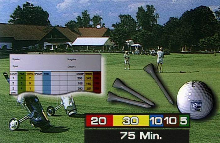 Turniervorbereitung Golf