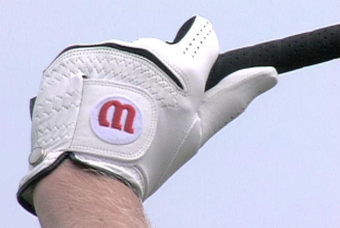 Golfschwung linke Hand