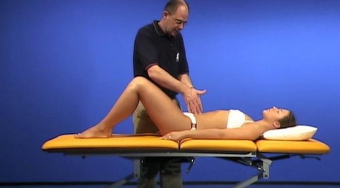 Osteopathische Untersuchung: Viscerale Untersuchung in Rückenlage