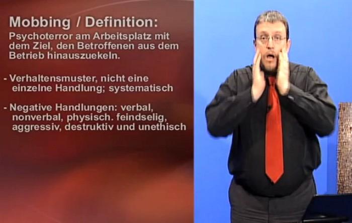 mobbing am arbeitsplatz definition - Mobbing Am Arbeitsplatz Beispiele
