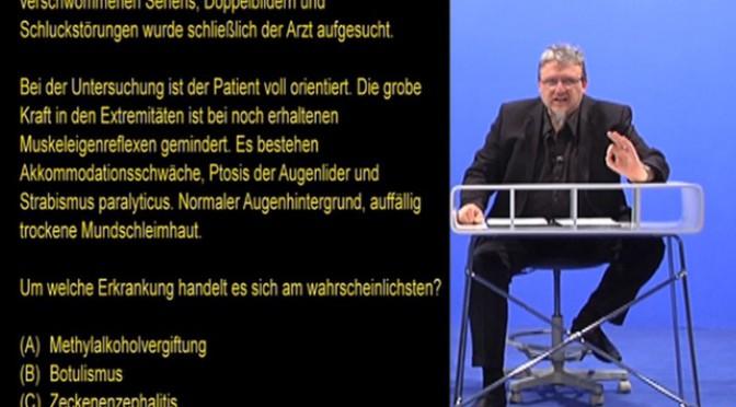Multiple Choice Heilpraktiker: Botulismus oder was anderes?