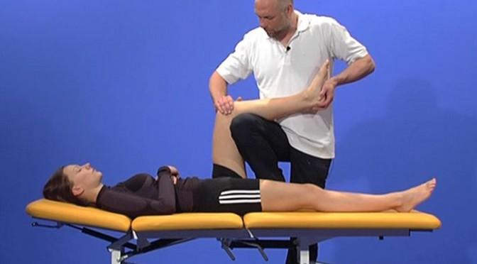 Behandlung des Hüftgelenks: Balance- und Haltetechnik