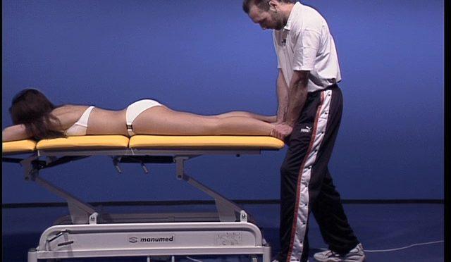 Untersuchung und Behandlung des Tibia-Fibulagelenkes